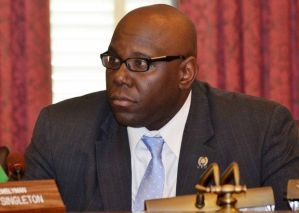 Assembly Member Troy Singleton, Introducer of #3908, Sexual Assault by Fraud, in NJ Assembly