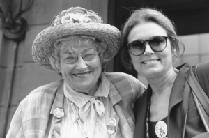 Bella Abzug and Gloria Steinem tirelessly fought for women's rights