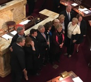 Advocate Richard Pompelion Honored by the NJ Legislature, November 14, 2016